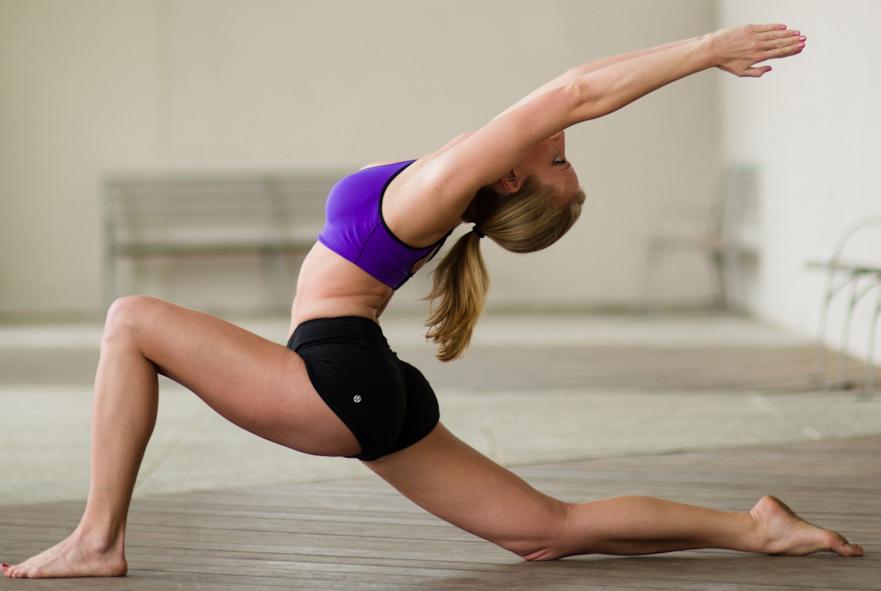 Lindsay Carson Yoga-lunge